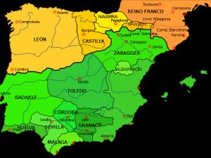 Los reinos de taifas