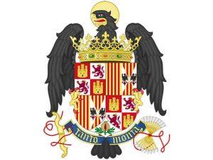 Escudo y lema de Isabel y Fernando